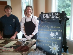 Chef Paul Brasfield and his BIN 612 Crew