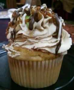 Gourmet Caramel Apple Cupcake from Kelli's