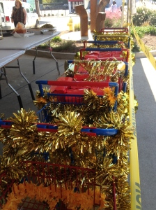 Shopping cart bling